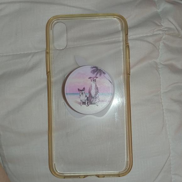 Accessories - Iphone xs clear case tpu rubber soft edges